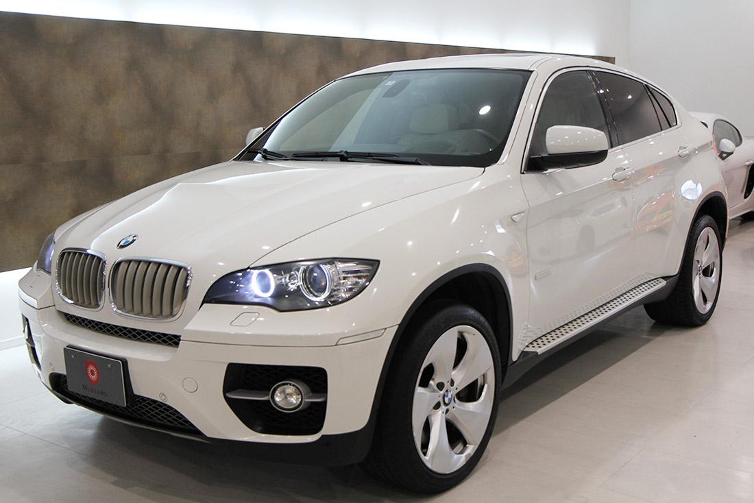 BMW X6 アクティブハイブリッドの中古車を入庫しました。