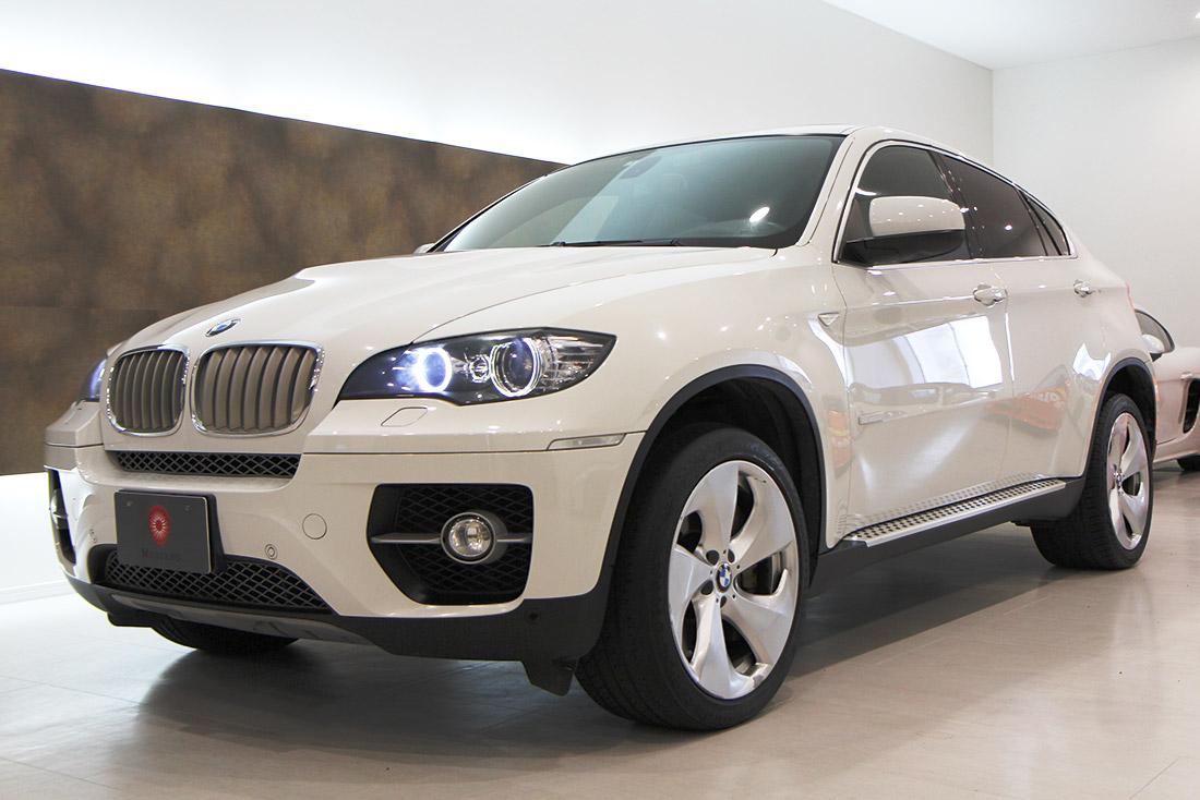 BMW x6にLEDフォグライト!
